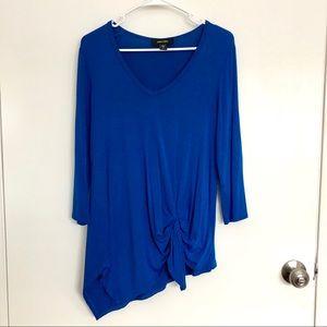 Karen Kane blue top